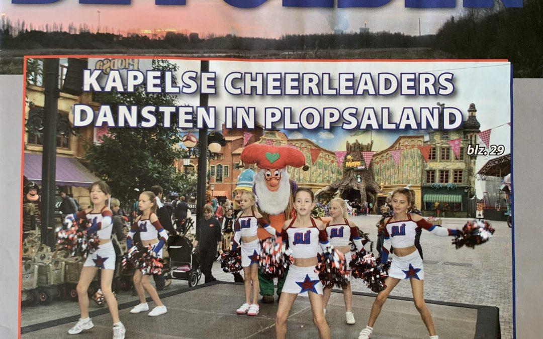 Kapelse Cheerleaders in Plopsaland