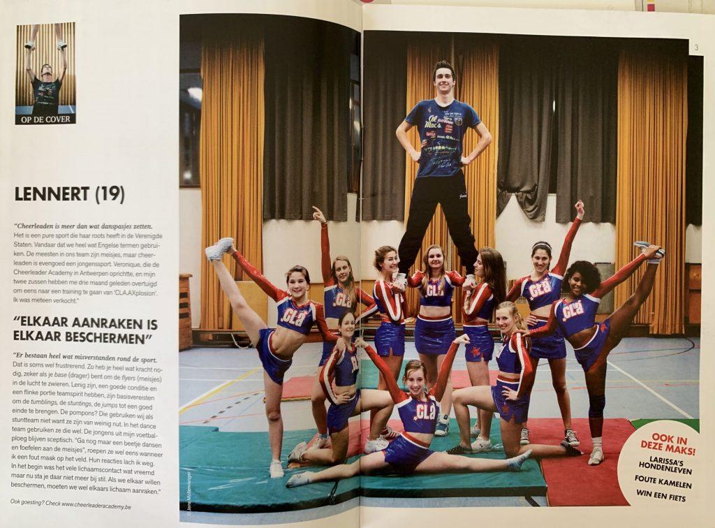 Cheerleaden is meer dan wat danspasjes