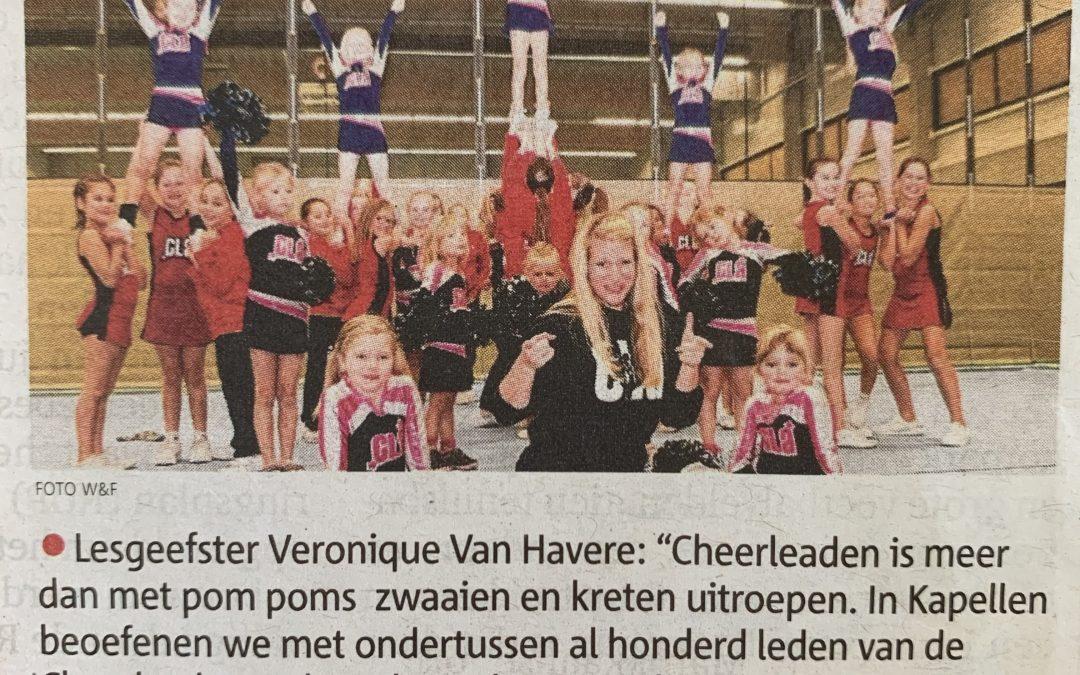 """Cheerleaden: """"Meer dan pom poms"""""""